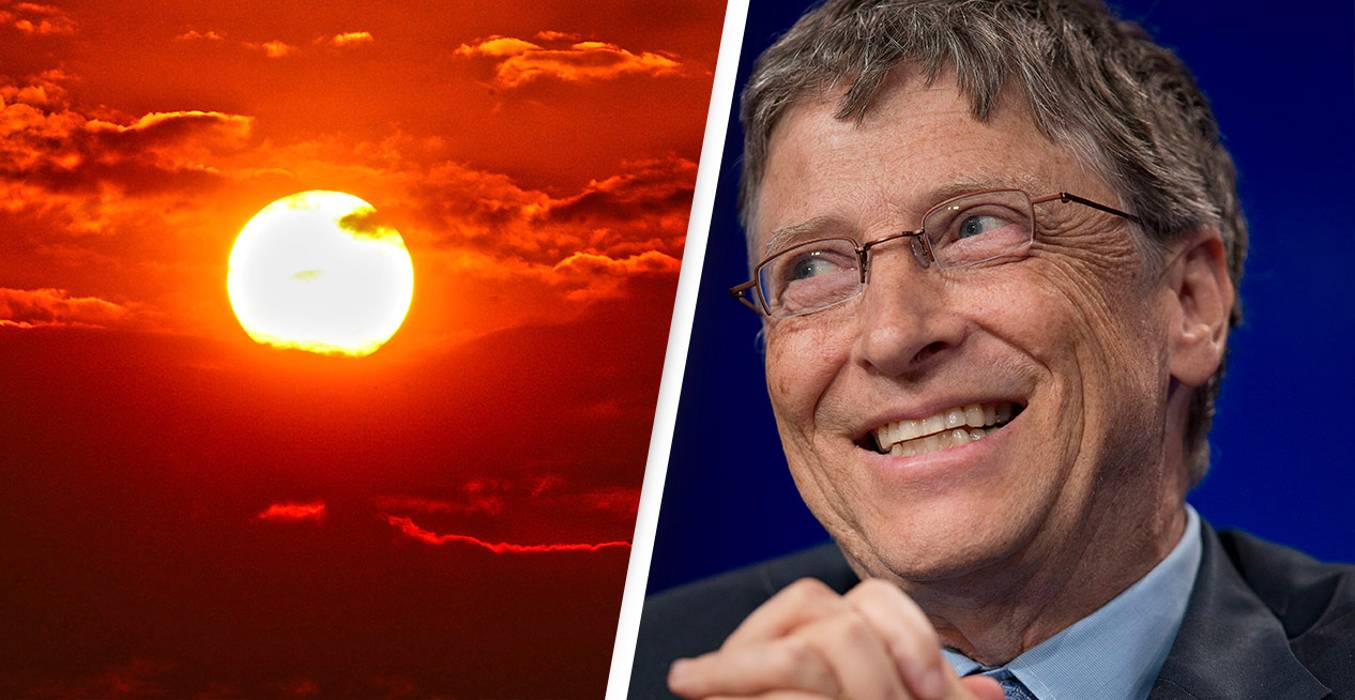 Bill Gates wants to dim the Sun and we would like to know why?