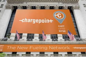 ChargePoint will ring the opening bell and begin trading on NYSE today as CHPT