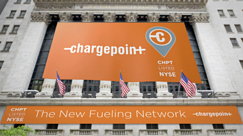 Charge Point Becomes the World's First Publicly Traded Global EV Charging Network