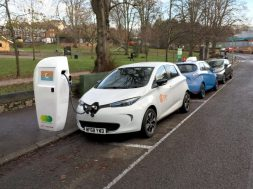 Electric vehicle charging points to be installed in eight parts of Exeter in April