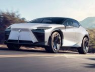 Lexus LF-Z Concept Brand's first battery-electric vehicle makes a bold statement