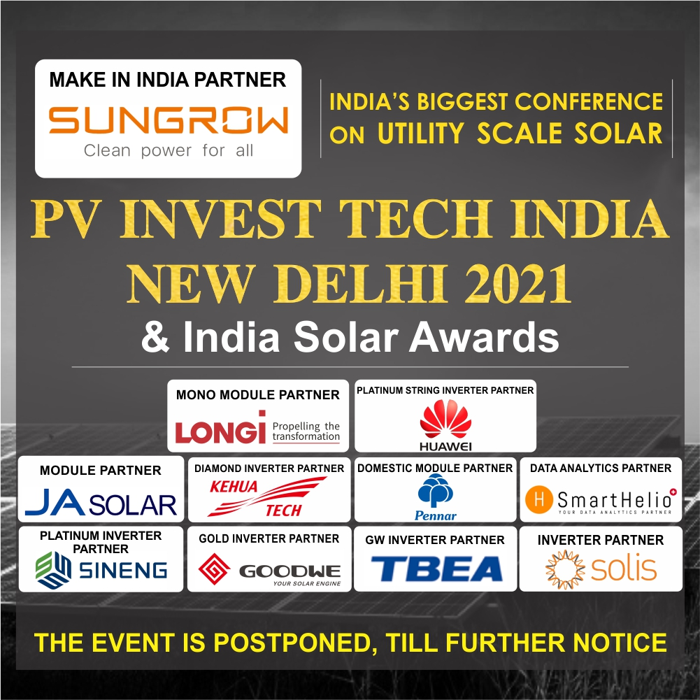 EQ PV Invest Tech India Conference & India National Level Annual Awards Show