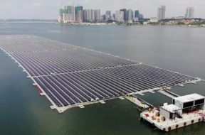 Sunseap completes offshore floating solar farm in Straits of Johor