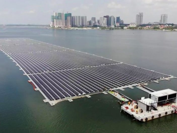 Sunseap completes offshore floating solar farm in Straits of Johor – The  Leading Solar Magazine In India