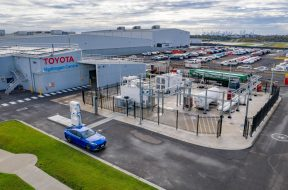 TOYOTA UNVEILS VICTORIA'S FIRST HYDROGEN PRODUCTION AND RE-FUELLING FACILITY AT CENTRE OF EXCELLENCE