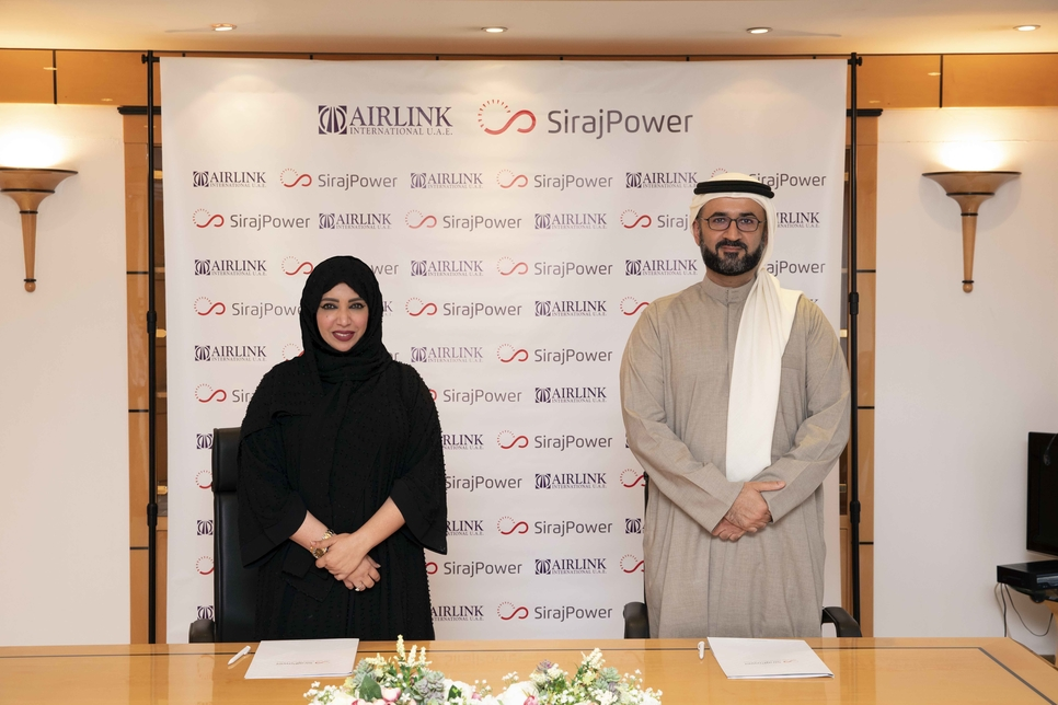 SirajPower inks solar agreement with UAE cargo provider