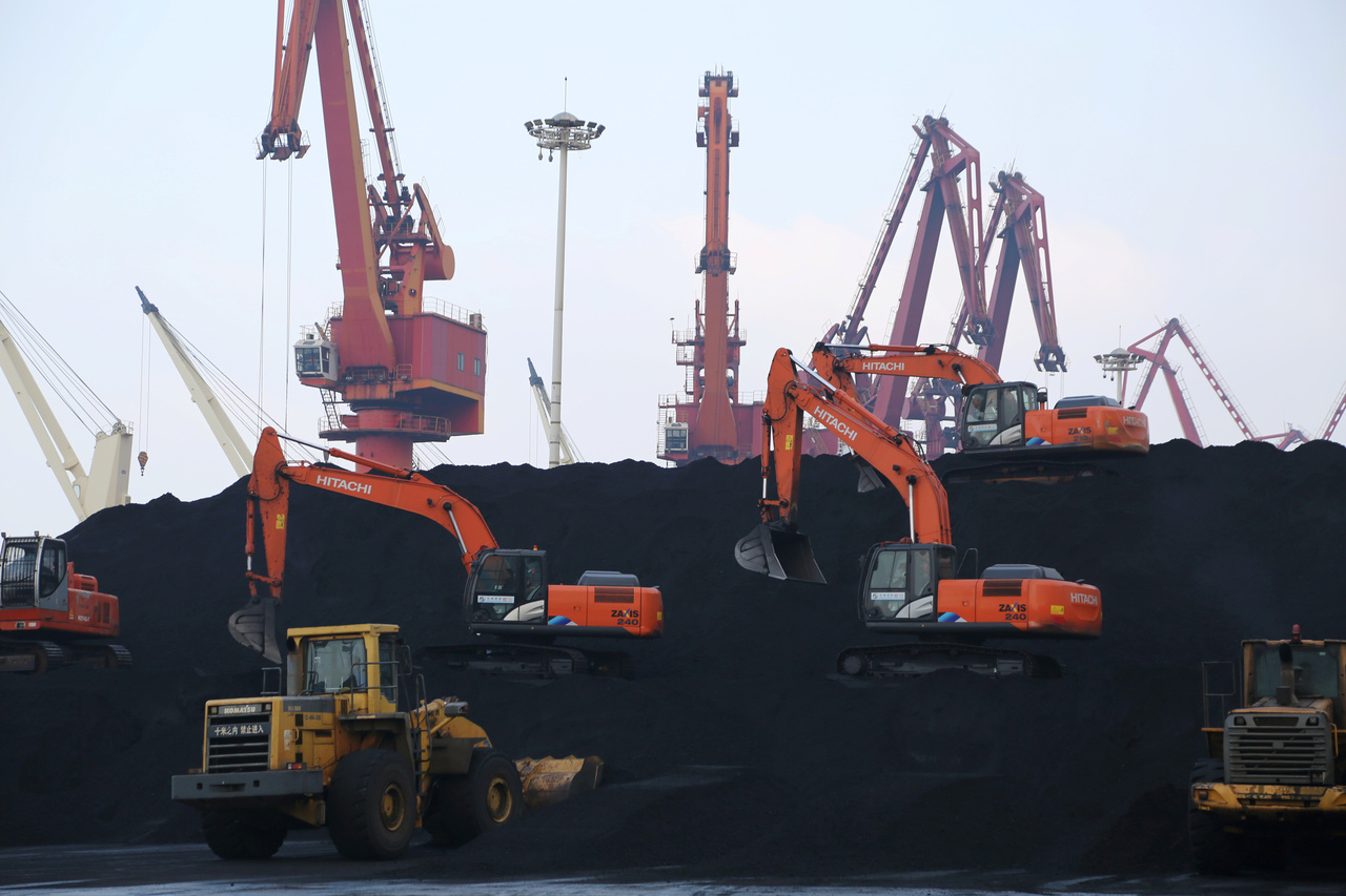 China's coal consumption share falls to 56.8% at end-2020