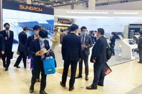 Sungrow-booth-at-PV-Japan-expo