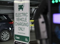 Could electric vehicle chargers in city-owned parking lots help replace gas stations