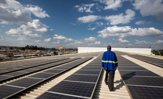 Solar energy powers COVID-19 treatment