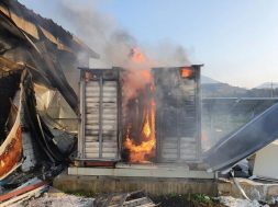 Fire guts batteries at energy storage system in solar power plant