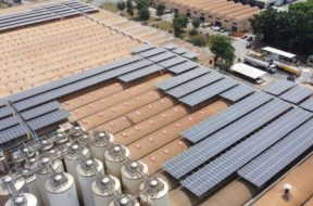 GHANA CrossBoundary installs solar power plant at Guinness brewery