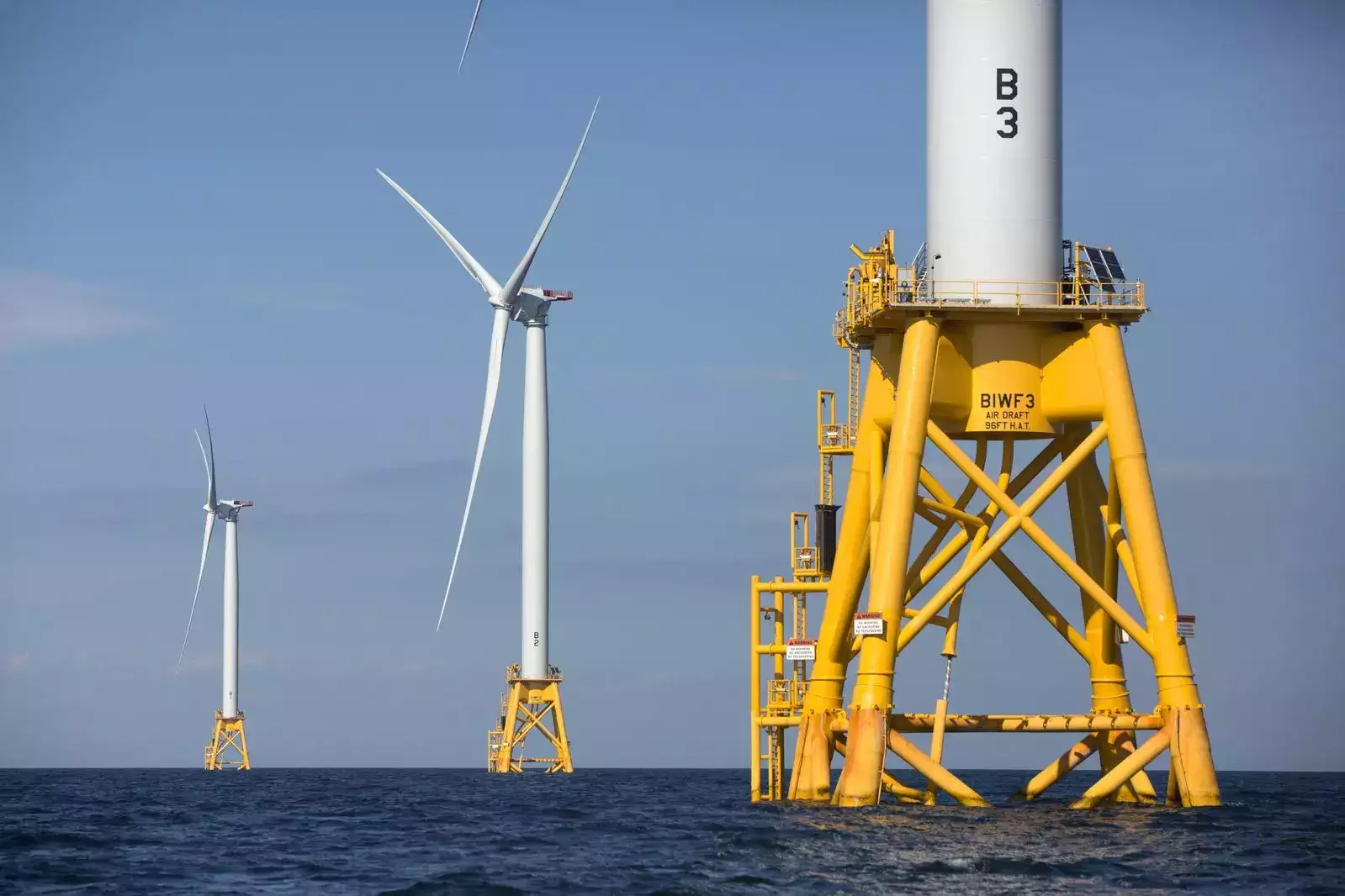 High stakes at sea in global rush for wind power