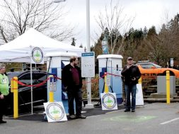More charge Two new electric vehicle charging stations added in Sechelt
