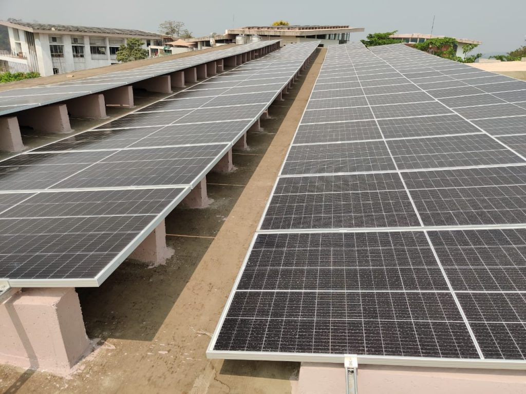 NEW STATE OF THE ART SOLAR FACILITY COMMISSIONED AT LEADING B-SCHOOL GOA INSTITUTE OF MANAGEMENT