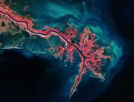 PHOTO – Mississippi River Delta – CREDIT European Space Agency