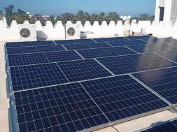 Solar-powered mosque in Wilayat of Al Seeb