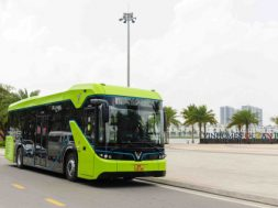 VinBus first smart electric bus in Vietnam into service