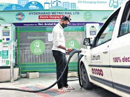 118 Electric Vehicle charging stations to dot Hyderabad
