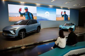 Chinese electric vehicle maker Nio launches its 1st overseas store in Norway