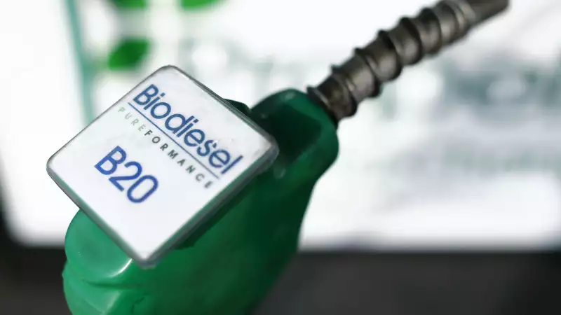 Diesel Doped with Biodiesel Made from Used Cooking Oil Rolled Out