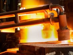 First-ever test with a 30% natural gas hydrogen blend in steel forging