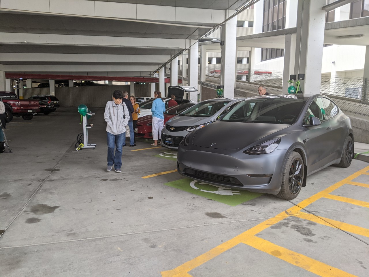 New Electric Vehicle Chargers Unveiled in Downtown Billings
