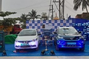Tata Motors and Tata Power install high-speed EV charging stations in Bhubaneshwar, Cuttack, and Jaipur
