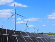 Solar,Photovoltaic,Panels,And,Wind,Turbines.,Energy,Concept