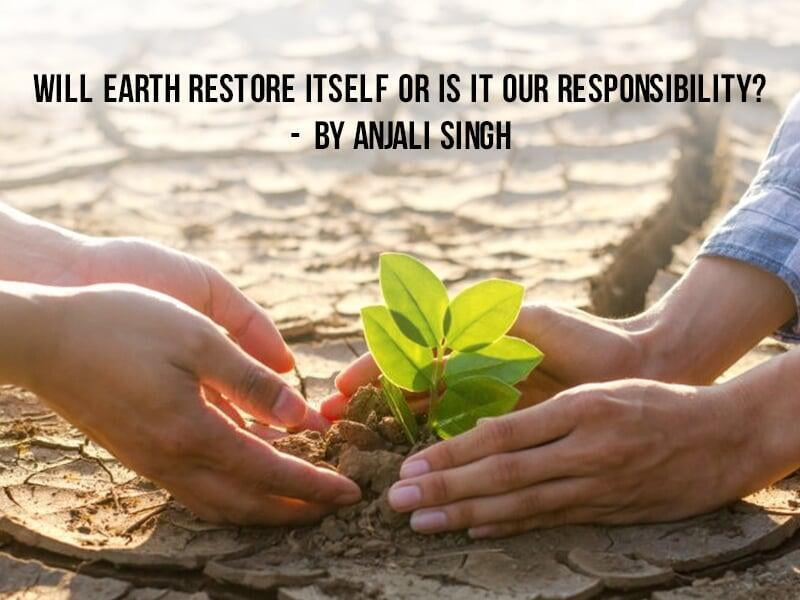 Will Earth Restore Itself or is it Our Responsibility?