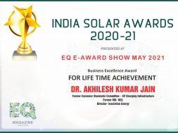 Dr Akhilesh Jain Award