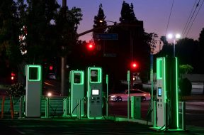 Electric car charging networks jostle for pole position amid Biden's push to electrify