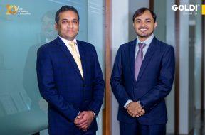 Goldi Solar Founders Ishver Dholakiya and Bharat Bhut