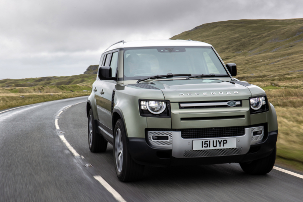 JLR developing prototype hydrogen fuel cell electric vehicle based on Land Rover Defender