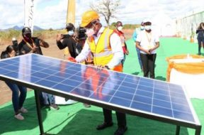 Mozambique solar project with utility-scale battery storage system begins construction
