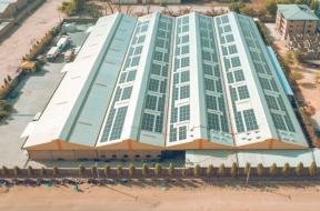 PHOTO – Petrichor 500kW solar installation Nigeria – Westa.Solar