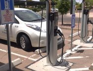 Tempe installs 7 new electric vehicle charging stations at public library