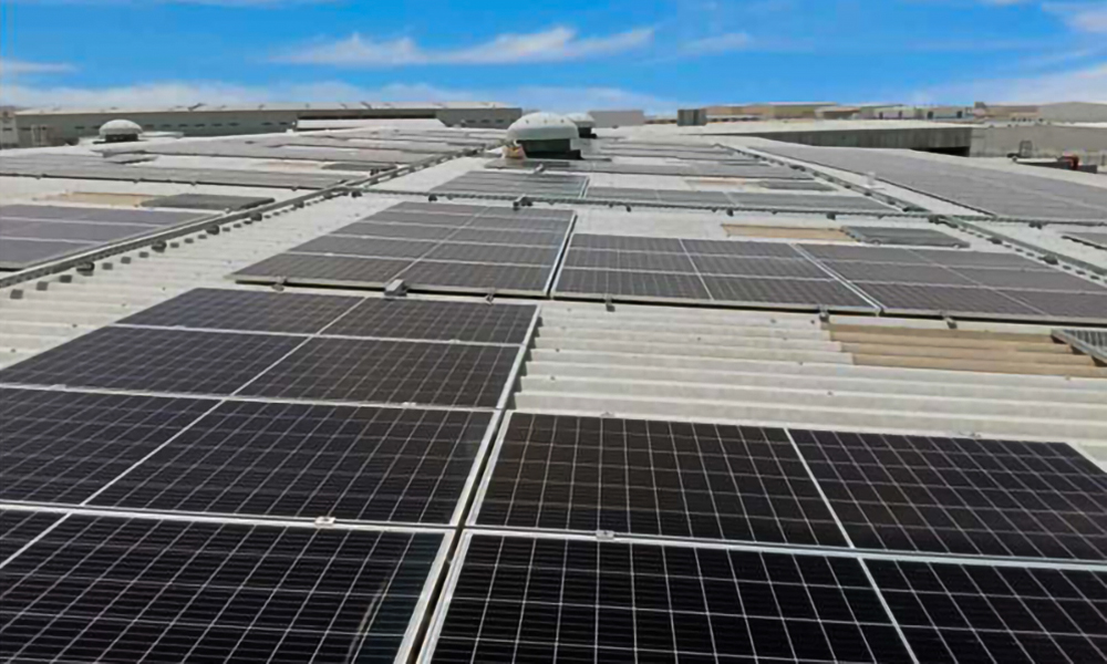Voltas Commissions First Solar Project in Dubai For SirajPower