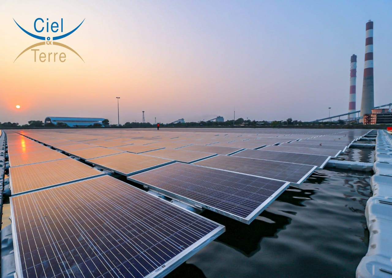5.4 MWP Floating Solar Plant Commissioned in West Bengal