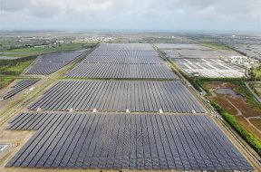 Cigu solar farm joins nation's electricity gird