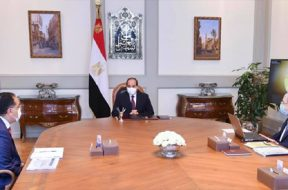 Egypt's president urges establishing integrated strategy for producing green hydrogen