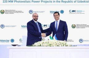Masdar to Develop Two Solar Power Projects in Uzbekistan