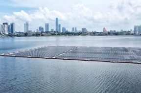 Sunseap delivers offshore floating solar project in Singapore