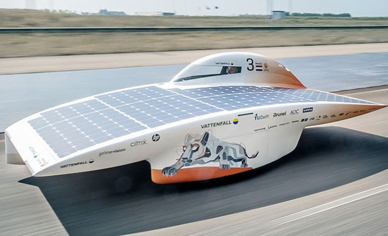 Vattenfall Unveils Latest Solar Racer