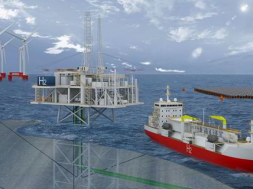 Wind and floating solar tapped for first Adriatic green hydrogen hub on oil & gas platforms