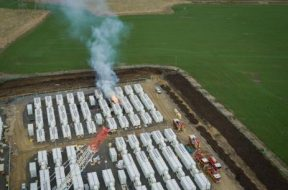 Fire hits construction of 300MW Victorian Big Battery in Australia