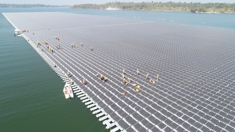 Floating Solar Farm Launch Set For October