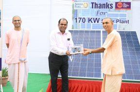 AU Bank Installs Solar Power Grid At Akshay Patra Mega Kitchen