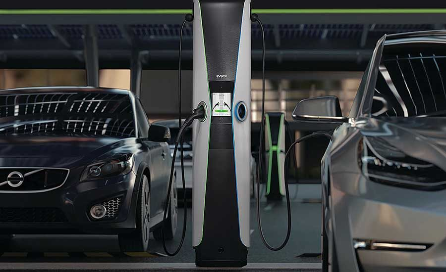 Assembling Electric Vehicle Charging Stations – EQ Mag Pro