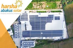 Glad to share, Harsha Abakus Solar commissioned 2 MW (1 MW each) solar rooftop project at leading textile factory in Gujarat.